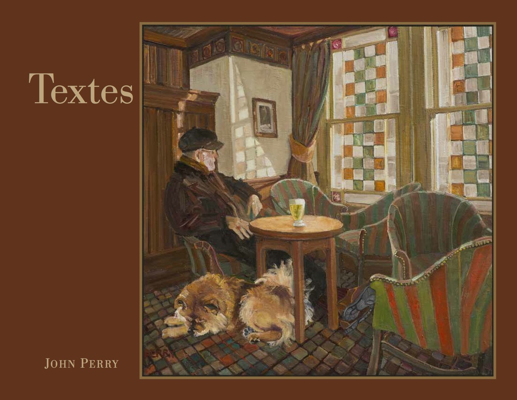 Front cover of 'Textes,' a forthcoming publication of 2000 haiku by John Oliver Perry, due to be released April 2018.